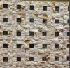 Stone Mosaic of Building Wall and All Background Fyssd079