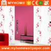 Beautiful Flower Non Woven Wall Covering for Hotel Decorative
