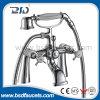 Zhejiang Manufacture Cheaper Price Luxury Gravity Casting Brass Pillar Mounted Bath Shower Faucets Mixer