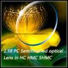 1.59 PC Semifinished Optical Lens in Hc Hmc Shmc