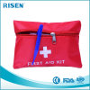 Red Nylon Material Small Gift First Aid Kit Bag