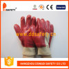 Red PVC Fully Dipped Knit Wrist Work Glove Dpv101