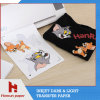 Easy Cutting Dark T-Shirt Heat Transfer Printing Paper