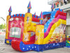 Spirit Themed Inflatable Bouncer with Slide Factory Supply (CHB206)