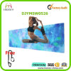 Safe 100% Microfiber and Natural Rubber Mat for Yoga Exercise