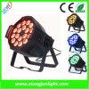 Indoor 18X10W LED PAR Can Light 4 In1 LED Lamp PAR Can