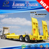 2 Axles Low Flat Bed Semi-Trailer with Air Suspension
