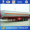 3 Axle Gooseneck Trailer 40cbm Fuel Oil Tanker for Sale