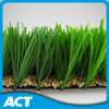 Durable W Shape Yarn Synthetic Turf for Soccer Fields 11 Players