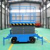 8m 500kg Mobile Scissor Lift/Hydraulic Lift/Hydraulic Ladder Lift