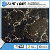 Black Marble Color Artificial Quartz Stone Slabs/ Quartz Stone Countertop Solid Surface