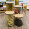 Factory Wholesale High Quality 4PCS Borosilicate Storage Food Glass Jar (100032 1-6)
