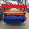 Dixin Automatic Hydraulic Motor Roof and Wall Panel Tile Roll Forming Machine