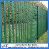 Powder Coated Frame Finishing Steel Palisade Fence