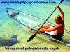 PC Kayak, PC Canoe, Clear Kayak, Clear Canoe, Transparent Kayak, Transparent Canoe, Polycarbonate Kayak, Polycarbonate Canoe, Clear Boat, Transparent PC Boat