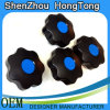 High Quality Seven-Lobe Knob with Blue Cover