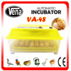Christmas Gift! CE Approved Automatic Chicken Egg Incubator Va-48