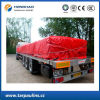 Red PVC Coated Polyester Fabric High Quality Tarp/Tarpaulin