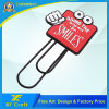 Professional Customized PVC Rubber Book Mark for Promotion Gift with Any Design