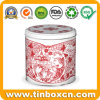 Christmas Gift Cookie Tins Containers for Metal Food Storage Box
