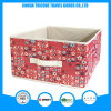 2017 Popular Non-Woven Flower Printed Storage Bag Box Foldable Box