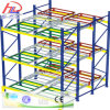 Push Back Storage Pallet Racking