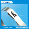 304 316 Grade Heat Resistant Stainless Steel Cable Tie with Ce ISO UL