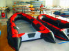 Eye Catching SD Series PVC Inflatable Boat, Versatile Function for Rowing, Drifting and Racing
