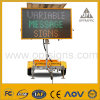 1-Optraffic Solar Powered Advertising Board Variable Message Signs Vms Trailer