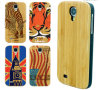 Hot Sale 2014 Natural Wood and Bamboo with PC Case for Samsung S4
