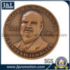 Customer Design 3D Copper Metal Coin Antique Brass Finish