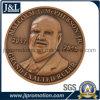 Customer Design 3D Copper Metal Coin Antique Brass Finish