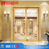Aluminium Profile American Standard Sliding Door with Pattern