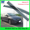Window Shield Sun Visor Vent Wind Rain for Hodna Odyssey 06