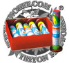 3 Jumbo Parachutes by Day Fireworks Toy Fireworks Cake Fireworks Parachute Fireworks