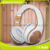 White Hi-Fi Bluetooth Music Headphone for Mobile Phone/PC