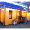 Automatic Powder Coating Spray Booth with Filter Cartridge Recovery System