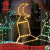 Yellow LED Motif Rope Light for Ramadan Decoration with Ce RoHS