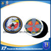 Rubberized 3D Logo Soft PVC Patch with Magic Tape Backing