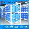 Blue Color Eco-Friendly Plastic Storage Bin for Light Duty Shelving