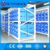 Blue Color Eco-Friendly Plastic Storage Bin for Light Duty Shelving