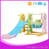 Indoor Mutifunction Playground Slide and Swing with Basketball Hoop Stand for Kid Mh Series