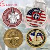 Fatory Customied Metal Military Sovenir Challenge Coin