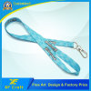 Customized Logo Printed Lanyard with Metal Hook (XF-LY15)