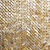 Hot Sale White Lip Mop Shell Mother of Pearl Marbke Mosaic Tile for Decoration Wall