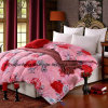 100% Cotton Quilt for Adults 60%Washed Duck Down Filled Comforter