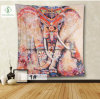 2017 European Square Tapestry Murals with Elephant Digital Printed Curtain