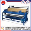 220V 0.75kw Roll Cloth Machine for Leather Metering