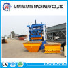 Qt4-24 Semi-Automatic Vibration Cement Hollow Paver Block Machine Price