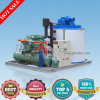 R404A Refrigerant Environmentally-Friendly Flake Ice Machine for Food Process (8 tons per day)